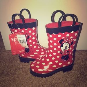 Disney Minnie Mouse Rainboots